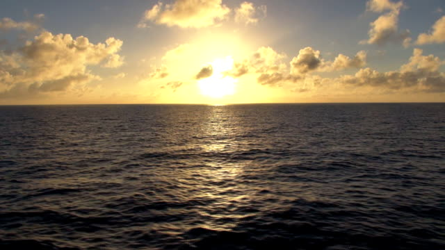 Sunset At Sea - Trans-Atlantic Crossing video