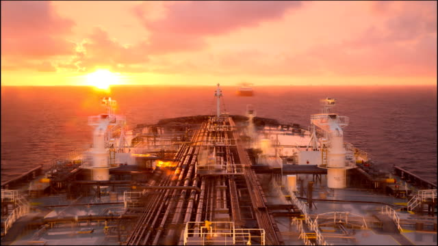 Sunset at the anchorage. video