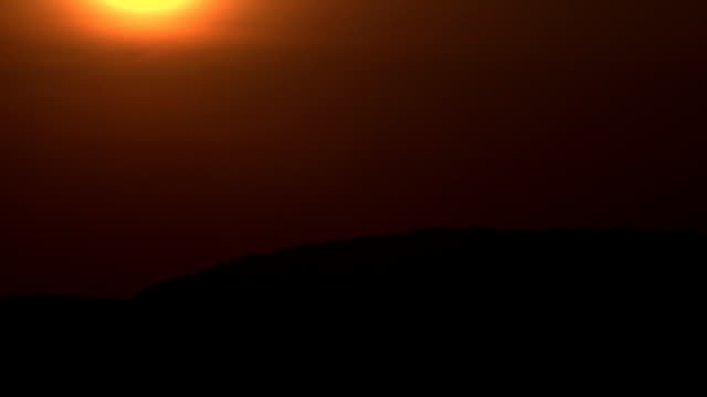 Sunset at the Mountain Camera Sony FS100. indian ocean islands stock videos & royalty-free footage