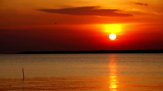 Sunset at the sea Camera Sony FS100. indian ocean islands stock videos & royalty-free footage