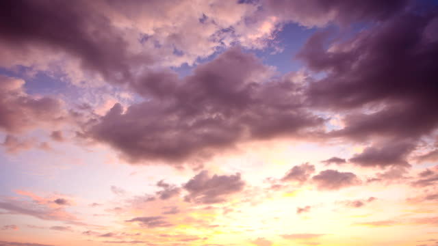 Sunset Clouds time-Lapse video