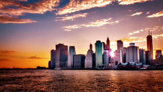 Sunset, Downtown, New York video