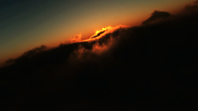 sunset fly video