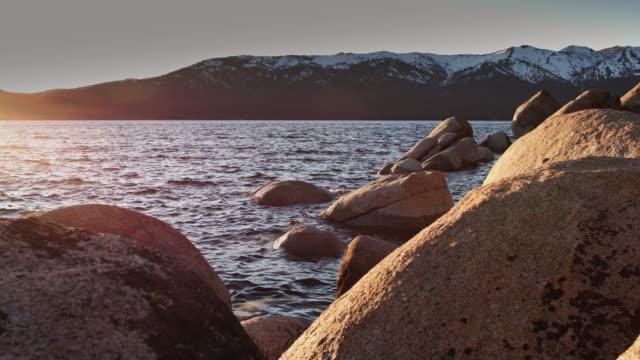 從沙港日落, 太浩湖 - 州立公園 個影片檔及 b 捲影像
