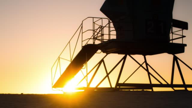 Sunset in California video