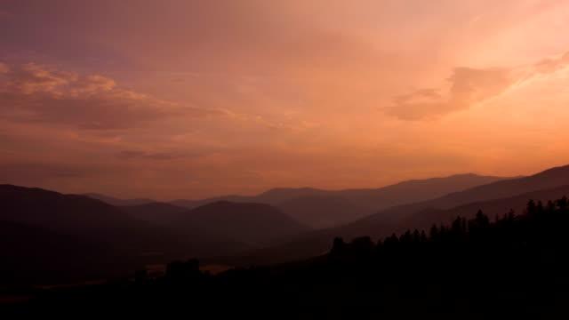 Sunset in the Belogradchik rocks. video