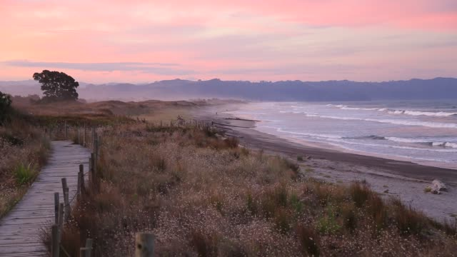 Sunset in Waihi
