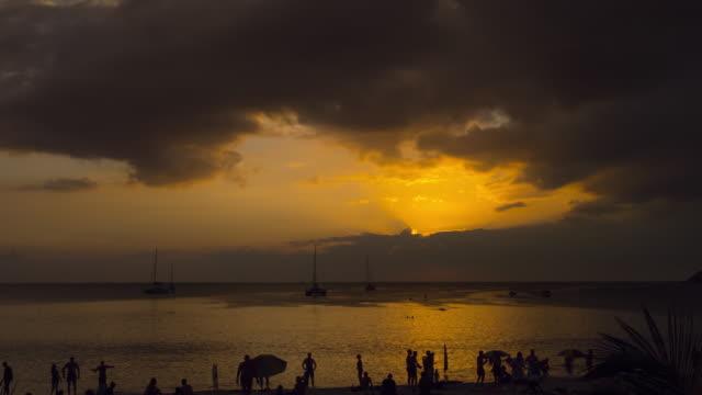 プーケットの夕日の風景 ビデオ
