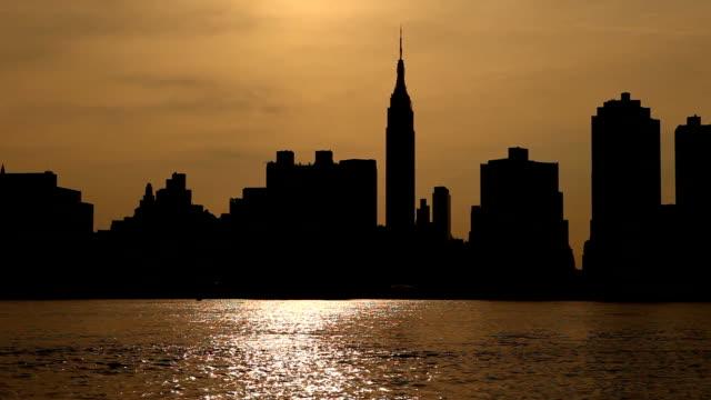 NY Sunset Loop video
