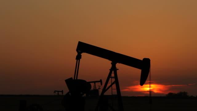 Sunset Oil Wells video