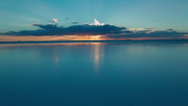 Sunset on Salt Lake