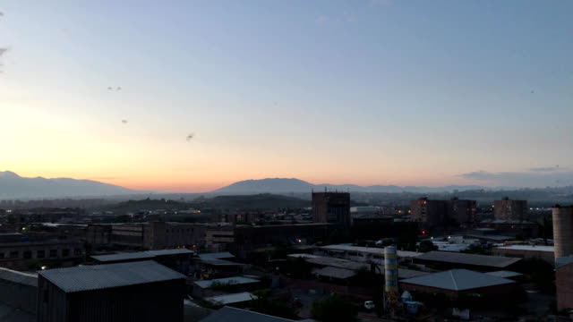 Sunset on the outskirts of Yerevan, Armenia video
