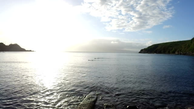 Sunset Over Bay on Maui video