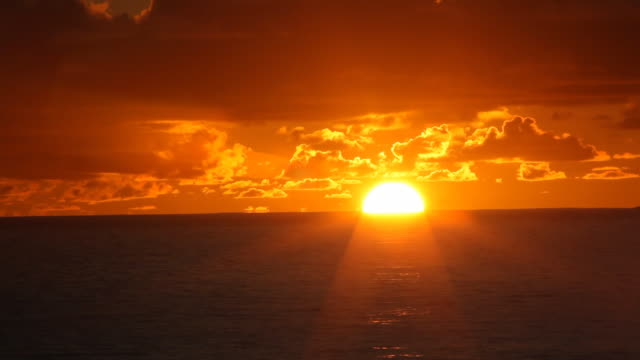 sunset over ocean timelapse  sunset to night time lapse stock videos & royalty-free footage