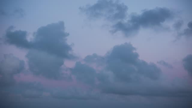 Sunset Sky Cloudscape Time Lapse video