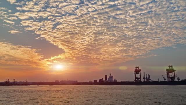 Sunset / Sunrise over sea video