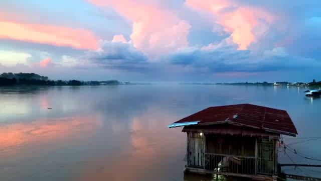 Sunset / Sunrise timelapse over sea video