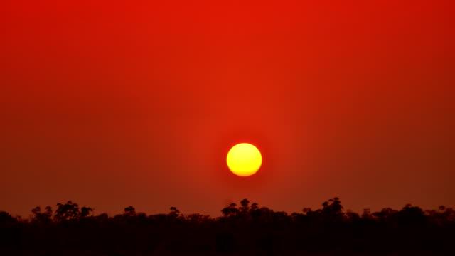 Sunset Time Lapse 4K video