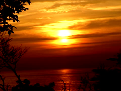 sunset time zeitraffer  - indochina stock-videos und b-roll-filmmaterial