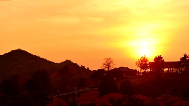 Sunset Time Zeitraffer – Video