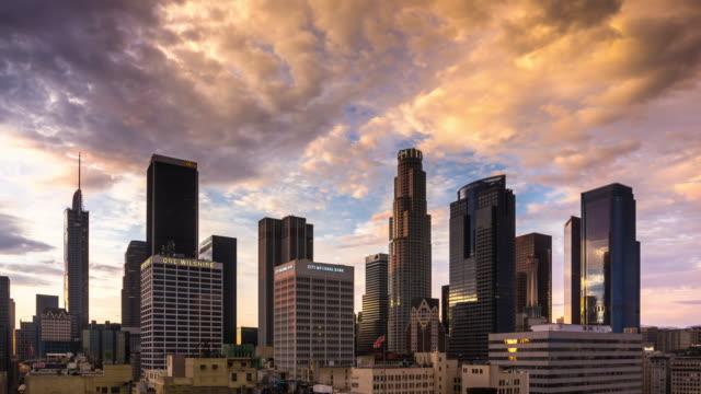 DTLA Sunset - Time Lapse video
