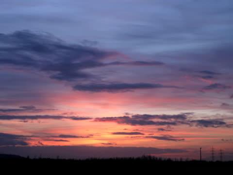 NTSC: Sunset Timelapse video