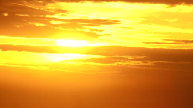 закат время-lapse - близко к стоковые видео и кадры b-roll