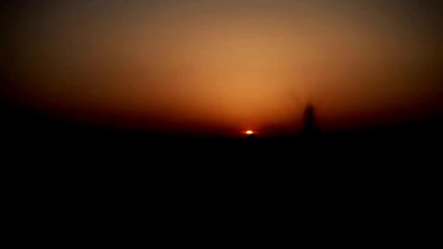 закат время-lapse - харьяна стоковые видео и кадры b-roll