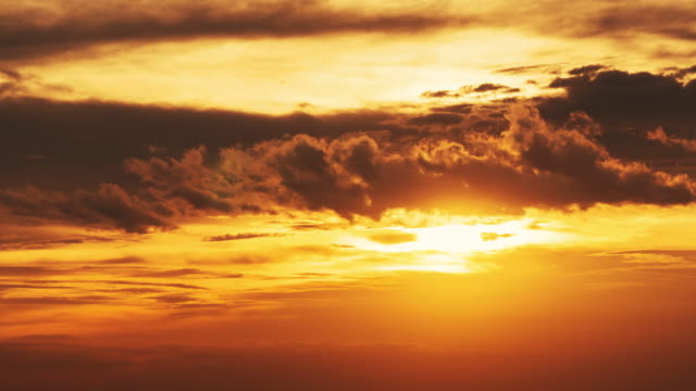 Sunset timelapse Aerial View, Cloud - Sky, Sunset, Sun, Dramatic Sky, Sky, Cloudscape, Mountain, Dusk sunrise dawn stock videos & royalty-free footage