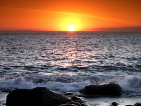 vidéos et rushes de pal : coucher du soleil - durée du plan séquence