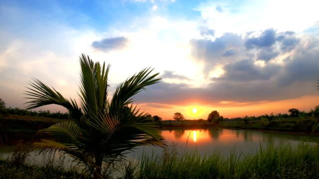 solnedgången - high dynamic range imaging bildbanksvideor och videomaterial från bakom kulisserna