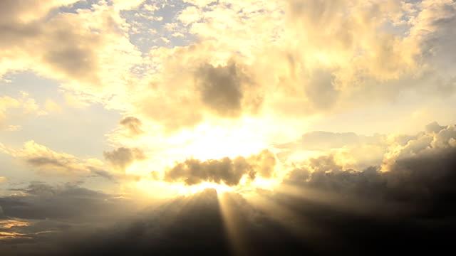 sunset - himlen bildbanksvideor och videomaterial från bakom kulisserna