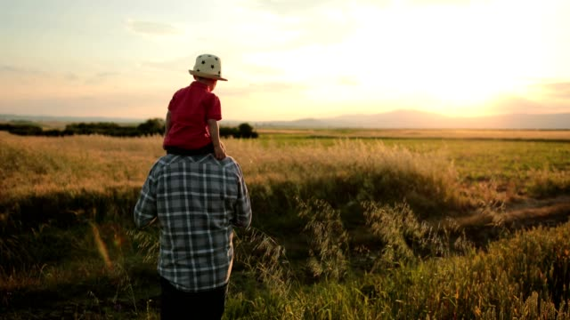 sunset walks - grandparents stock videos & royalty-free footage