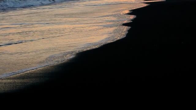 sunset wave video