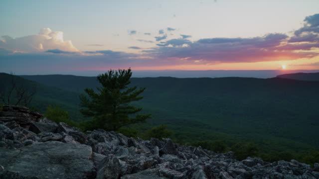 Sunset/Sunrise from Duncan Knob - Massanutten Range, VA - Time lapse