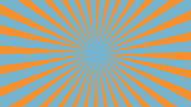 SunSpin Grunge Loop-Blue (4K) video