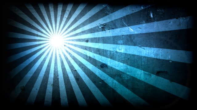 SunSpin Grunge Loop-Blue (HD 1080) video