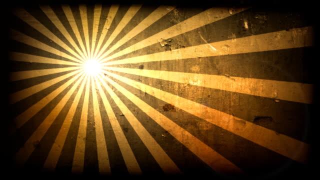 SunSpin Grunge Loop-Yellow (HD 1080)