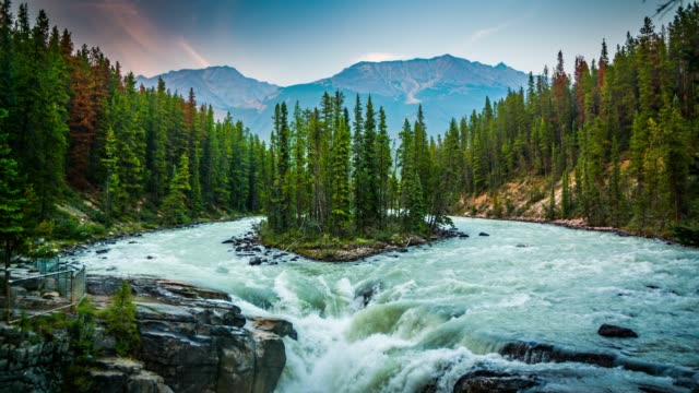 Sunwapta Falls-Jasper National Park, Kanada – Video