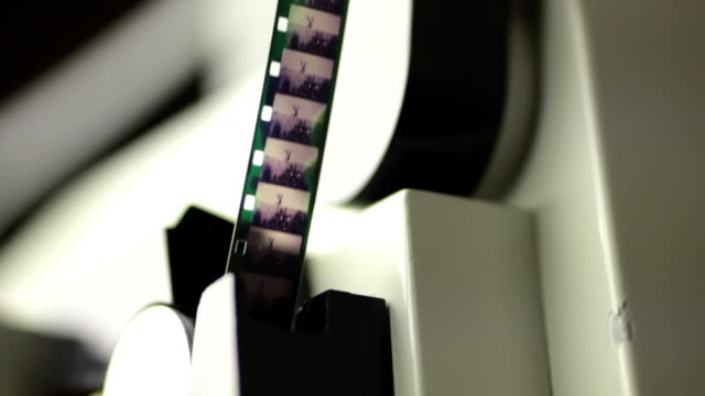 super 8 movie projector film with audio video