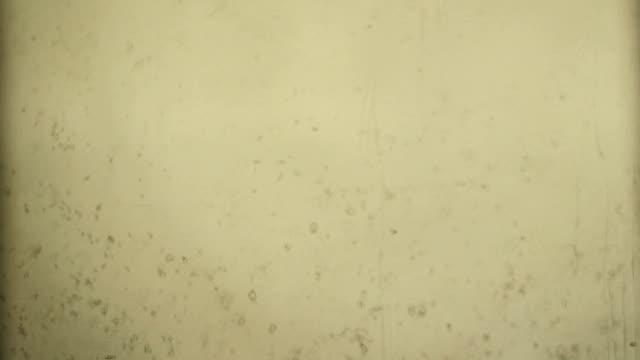スーパー 8 ミリフィルムスタイル、光漏れ、よごれ、穀物、傷、オーバーレイ、ヴィンテージエフェクト、古いフィルム、フィルムでの熱傷 - ダメージ点の映像素材/bロール