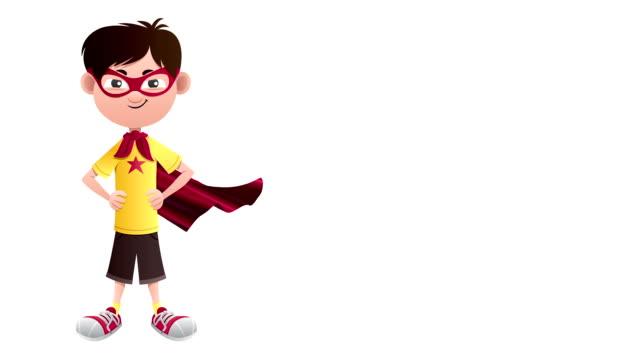 super boy isolerade - superhjälte isolated bildbanksvideor och videomaterial från bakom kulisserna