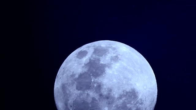 super full moon of the november 2016 - ноябрь стоковые видео и кадры b-roll