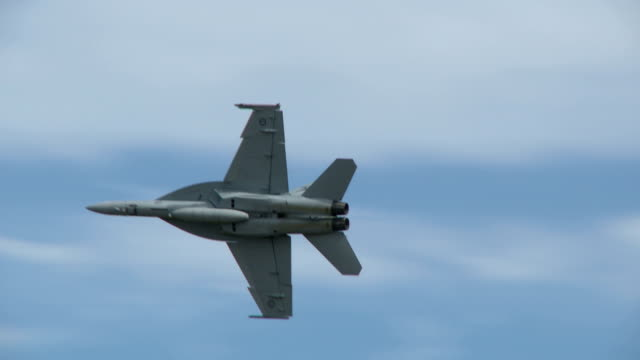 Super Hornet in Flight