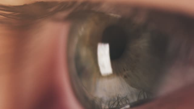 super macro shot of female teen green eye in slow motion super macro shot of female teen green eye in slow motion, 180fps prores footage close to stock videos & royalty-free footage