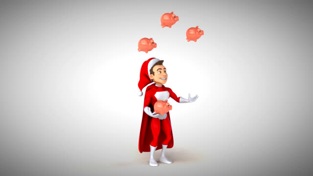 Super Santa Claus - 3D Animation video
