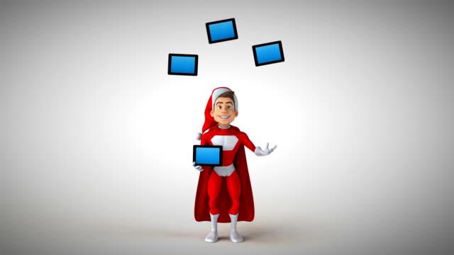 Super santa claus - 3D Animation video