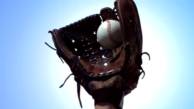 HD Super Slow-Mo: Baseball Big Catch video