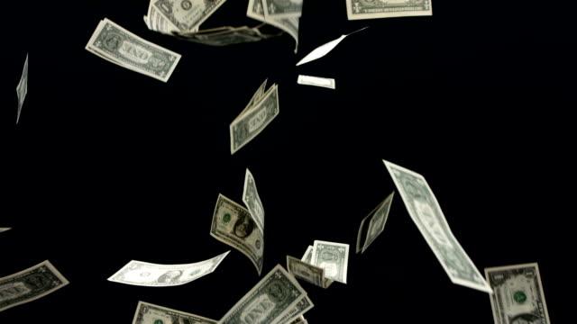 vidéos et rushes de hd super slow-motion: chute de l'argent - bonne chance
