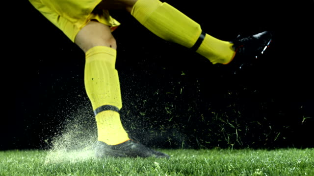HD Super Slow-Mo: Goal Kick video